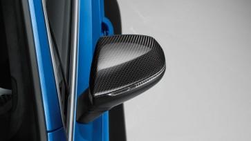 Carcasa del retrovisor exterior - en carbono para vehículos con Audi Side Assist