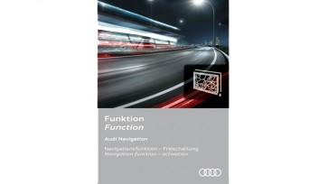 Habilitación de la función de navegación - para la región Europa y vehículos con preinstalación para navegación