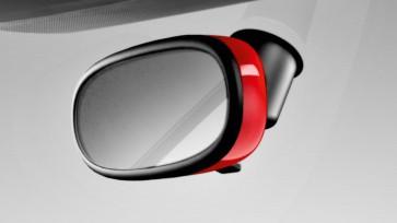 Embellecedor del retrovisor interior - amortiguación automática de la luminosidad, rojo misano efecto perla