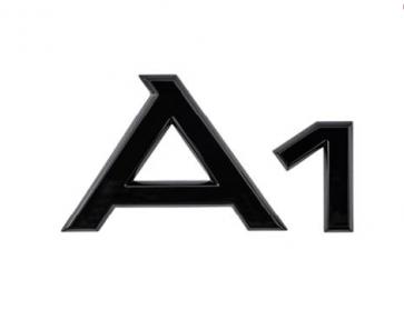 Denominación de modelo A1 en negro