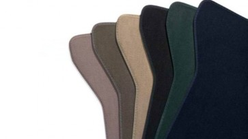 Alfombrillas textiles (traseras). Gris claro