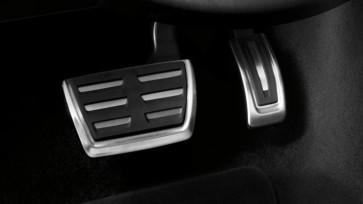 Fundas de pedal de acero inoxidable. Vehículos con S tronic