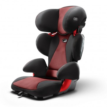Asiento infantil Audi youngster advanced rojo Misano efecto perla/negro