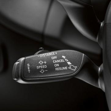 Reequipamiento programador de velocidad para vehículos sin calefacción del volante de la dirección y sistema de aviso de salida de carril