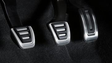 Fundas de pedal de acero inoxidable. Vehículos con caja de cambios manual