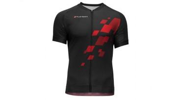 Camisa ciclista, Audi Sport -Negro