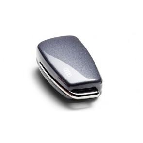 Carcasa para llave con aros Audi - Gris Daytona