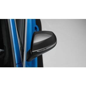 Carcasa del retrovisor exterior - en carbono para vehículos sin Audi Side Assist