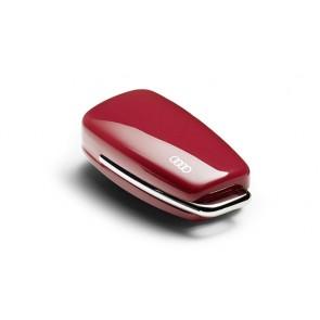Carcasa para llave con aros Audi - Rojo Misano
