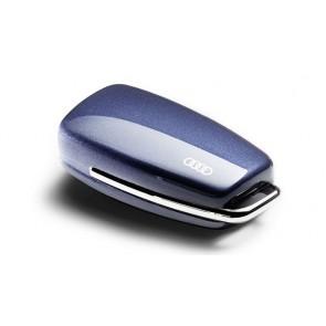 Carcasa para llave con aros Audi - azul utopía