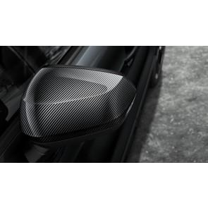Carcasas de retrovisores exteriores - en carbono para vehículos sin Audi Side Assist