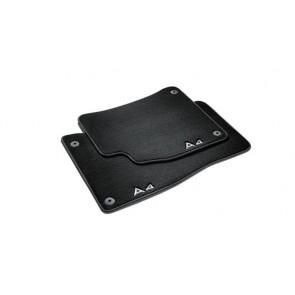 Alfombrillas textiles Premium - Para la parte trasera, negro/gris acero