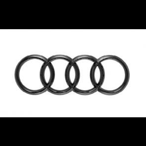 Aros de Audi parte trasera color negro