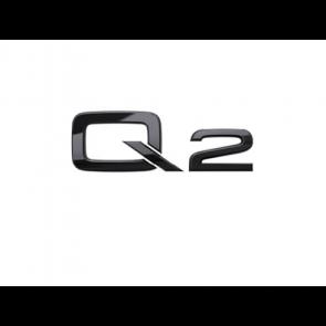 Denominación de modelo Q2 en negro