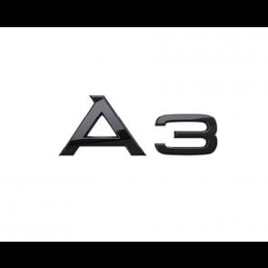 Denominación de modelo A3 en negro