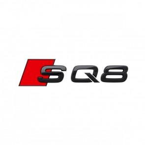 Denominación de modelo SQ8 en negro