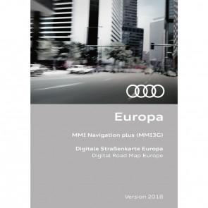 Actualización de la navegación Versión para Europa 2018 (MMI 3G HDD)
