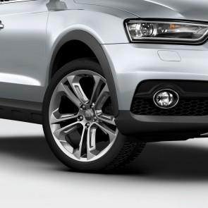 """Paquete offroad style, ensanches de pasarrueda para ruedas hasta 48 cm (19"""") gris piedra metalizado"""