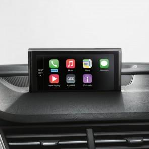 Montaje posterior de la interfaz para smartphone de Audi