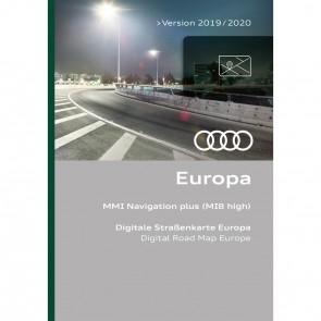 Actualización de la navegación Europa hasta versión 2019/2020 (MIB-H)