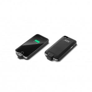 Funda de carga inductiva para Apple iPhone 5/5S/SE, Wireless Charging según el estándar Qi
