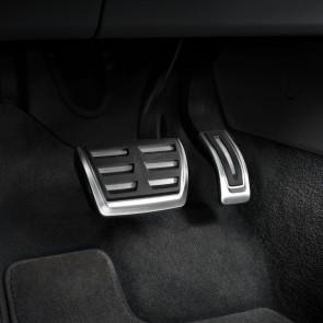 Fundas de pedales en acero inoxidable para vehículos con cambio automático