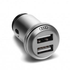 Adaptador de carga USB dual