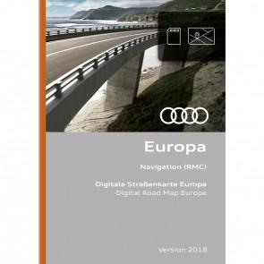 Función de navegación y datos de navegación Versión para Europa 2018 (RMC)