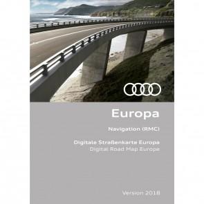 Actualización de la navegación Versión para Europa 2018 (RMC)