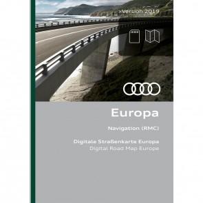 Actualización de la navegación Europa hasta versión 2019 (RMC)