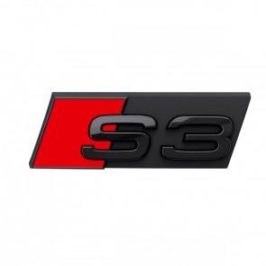 Denominación de modelo S3 en negro