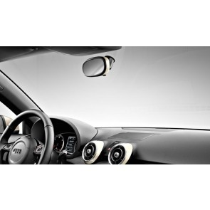 Embellecedor retrovisor interior antideslumbrante manual. Blanco amalfi