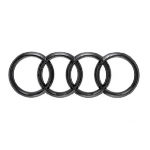 Aros de Audi en negro