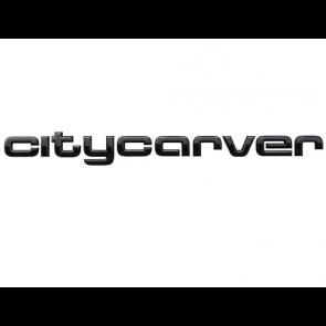 Inscripción citycarver en negro